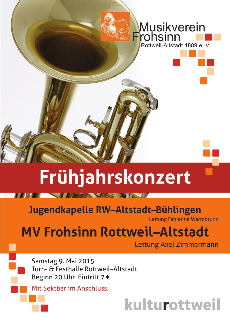 Termine - Musikverein Frohsinn Rottweil-Altstadt